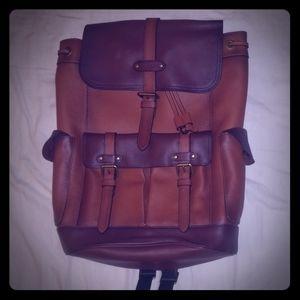 [F49543] Coach Hudson Backpack [leatcher]